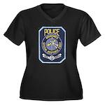 Brunswick Police SWAT Women's Plus Size V-Neck Dar