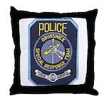 Brunswick Police SWAT Throw Pillow
