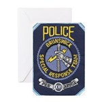 Brunswick Police SWAT Greeting Card