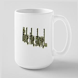 hide the shovel Mugs
