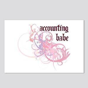 Accounting Babe Postcards (Package of 8)