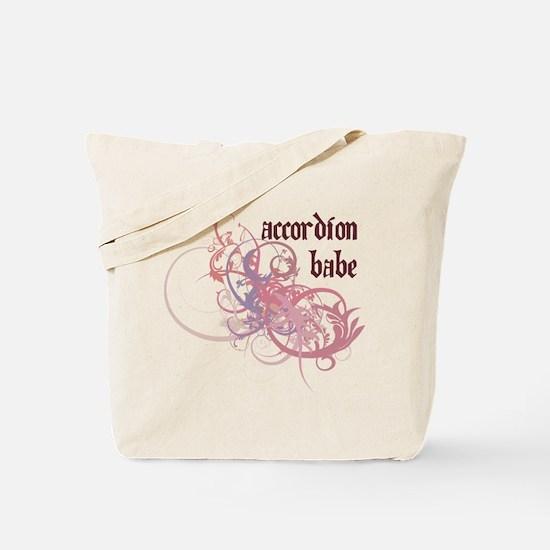 Accordion Babe Tote Bag