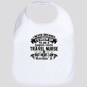 Travel Nurse Baby Bib