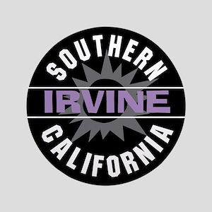 """Irvine Caliornia 3.5"""" Button"""