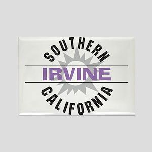 Irvine Caliornia Rectangle Magnet
