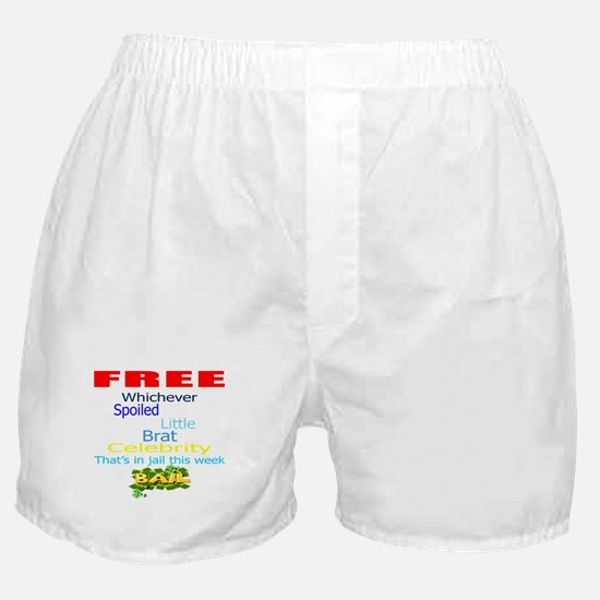 FREE CELEBRITIES Boxer Shorts
