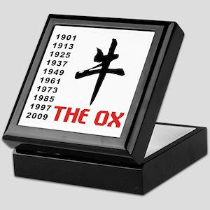 The Ox Keepsake Box