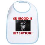 Ed Wood Is My Savior Baby Bib