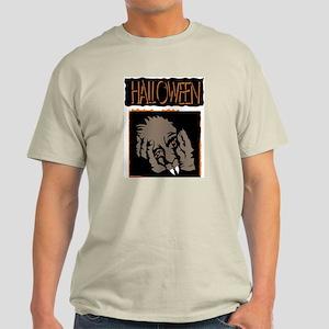 Halloween Ghoul Ash Grey T-Shirt