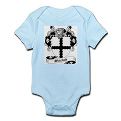 Sinclair Family Crest Infant Creeper