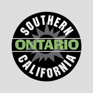"""Ontario California 3.5"""" Button"""