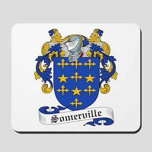 Somerville Family Crest Mousepad