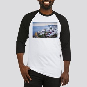 Santorini Greece Baseball Jersey