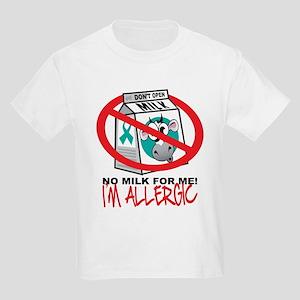 Milk Allergy 2 Kids Light T-Shirt