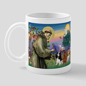 St Francis/Cavalier Trio Mug