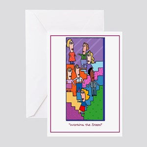 Werkin' the STEPS Greeting Cards (Pk of 20)