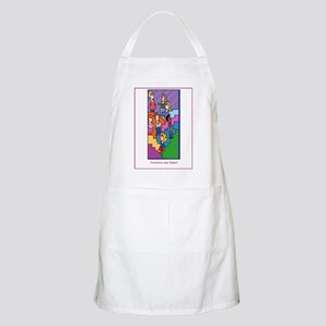 Werkin' the STEPS BBQ Apron