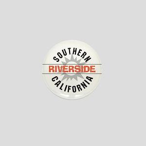 Riverside California Mini Button