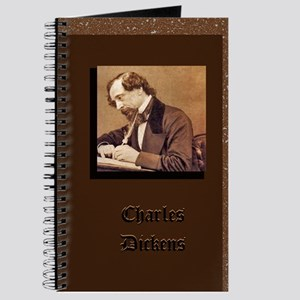 Portrait of Charles Dickens - Writer's Notebook