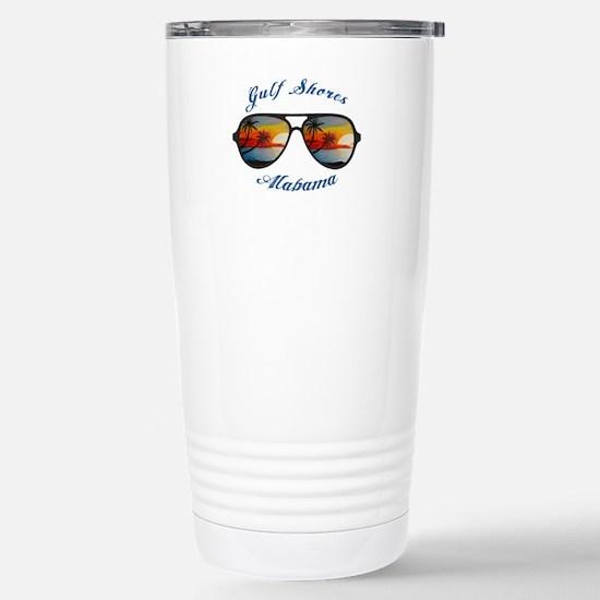 Alabama - Gulf Shores Stainless Steel Travel Mug