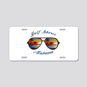Alabama - Gulf Shores Aluminum License Plate