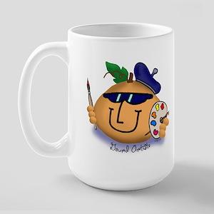 Gourd Art Large Mug