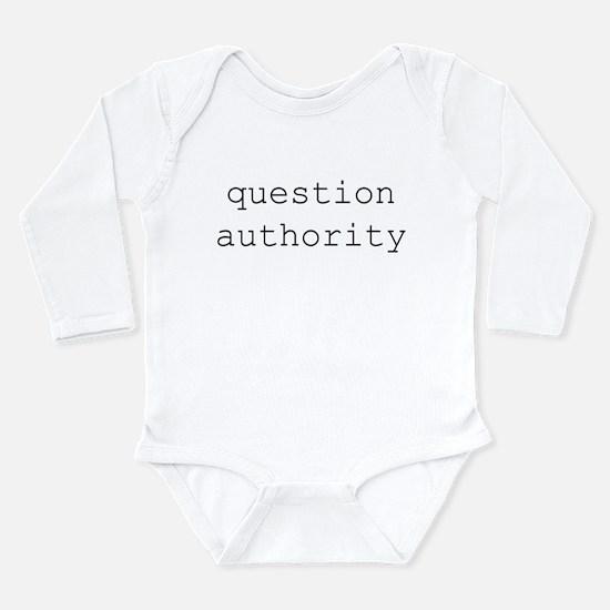authority Infant Creeper Body Suit