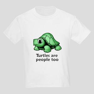 Turtles Are People Too Kids Light T-Shirt