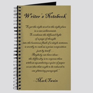 """Mark Twain"" - Writer's Notebook"