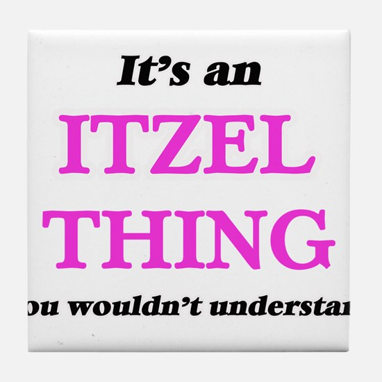 It's an Itzel thing, you wouldn&# Tile Coaster