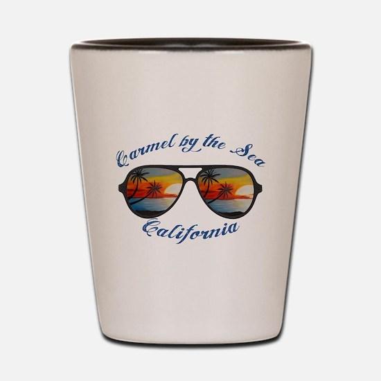 California - Carmel by the Sea Shot Glass