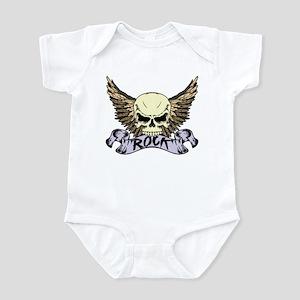 Rock Skull Infant Bodysuit