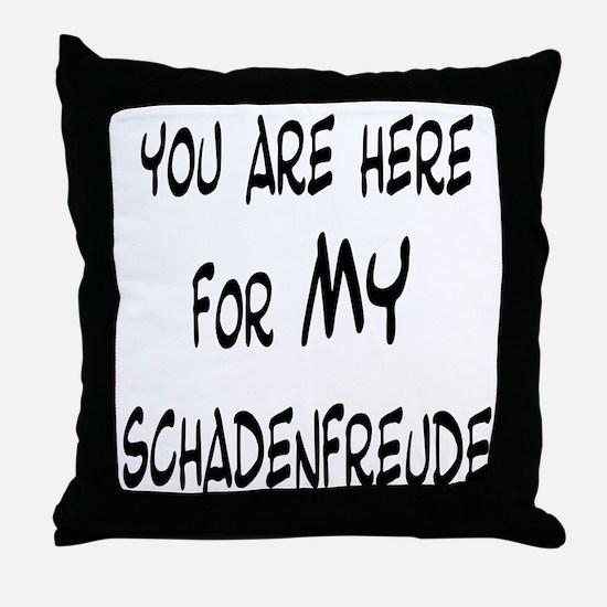 Unique Misery Throw Pillow