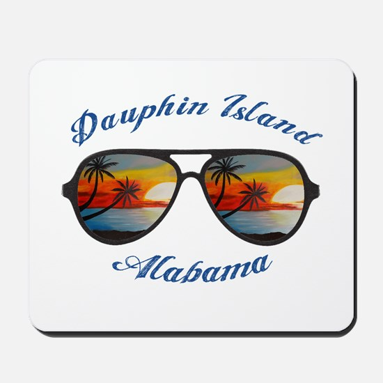Alabama - Dauphin Island Mousepad