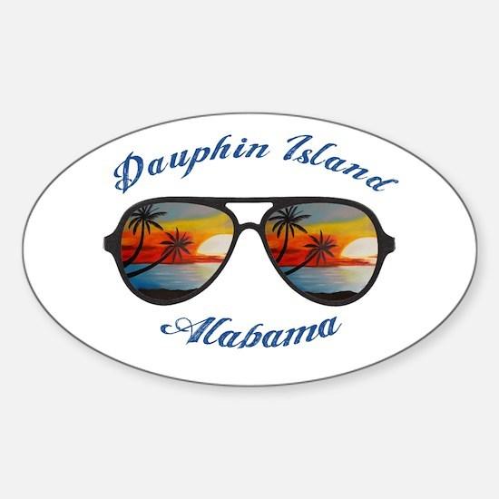 Alabama - Dauphin Island Decal