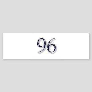 96 Smokin Joe Bumper Sticker