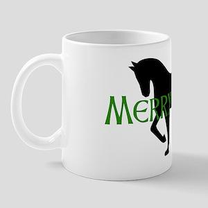 Merry Meet Spirit Horse Mug