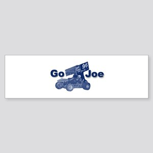 blue Go Joe Bumper Sticker