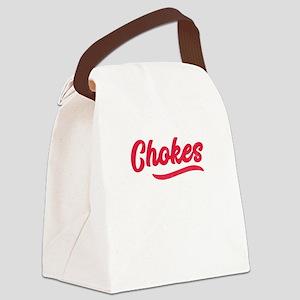 Chokes BJJ Brazilian Jiu-Jitsu MM Canvas Lunch Bag