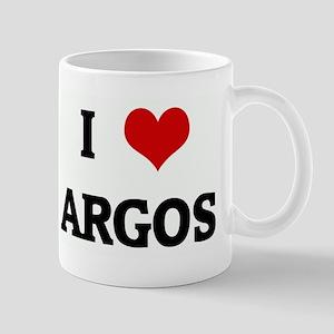I Love ARGOS Mug