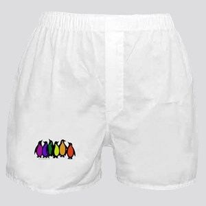 Gay Pride Rainbow Penguins Boxer Shorts