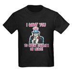 I Want You Kids Dark T-Shirt