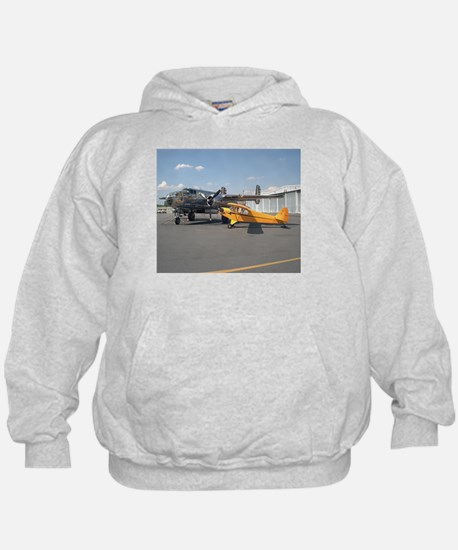 Piper Cub and B-25 Mitchell Hoodie