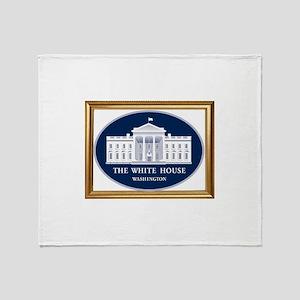 THE WHITE HOUSE Throw Blanket