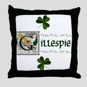 Gillespie Celtic Dragon Throw Pillow