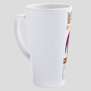 Wake Up 17 oz Latte Mug