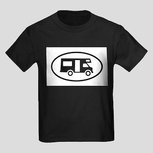 RV Oval Sticker T-Shirt