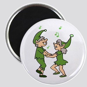Dancing Elves Magnet