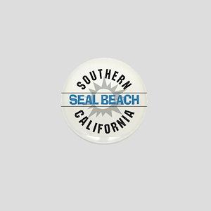 Seal Beach California Mini Button