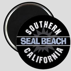 "Seal Beach California 2.25"" Magnet (100 pack)"